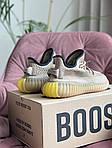 Жіночі кросівки Adidas Yeezy Boost 350 v2 (світло-бежеві) спортивні демісезонні кроси 10193, фото 3