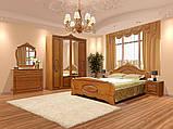 Тумба прикроватная в спальню из ДСП и МДФ Катрин Орех Світ меблів, фото 2
