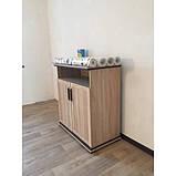 Комод в гостиную из ДСП Палермо 2Д Дуб сонома Світ меблів, фото 2