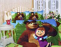 Детское постельное белье сатин KI-062