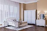 Шкаф распашной из ДСП Тереза 3Д Ясень белый Світ меблів, фото 2