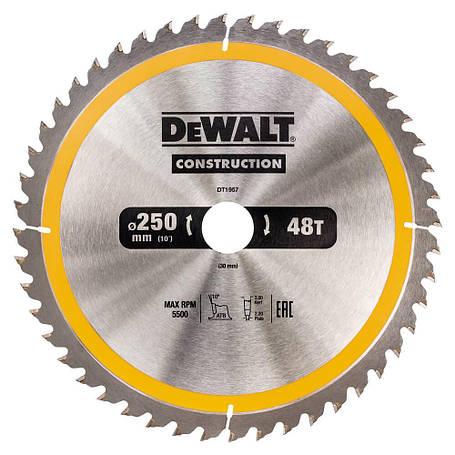Диск пильный DeWALT DT1957, фото 2