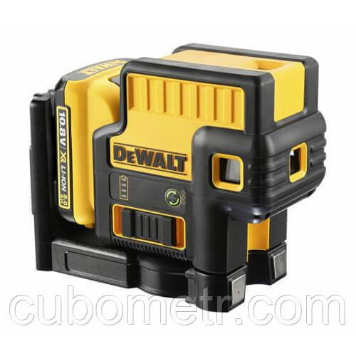 Уровень лазерный точечный DeWALT DCE085D1G