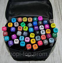 Набор скетч маркеров для рисования Touch 48 шт. Уп. (черная сумка) двусторонние фломастеры для скетчей