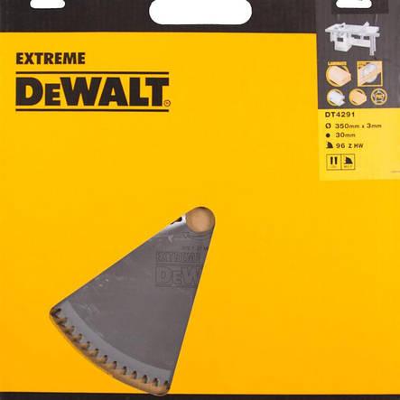 Диск пильный EXTREME WORKSHOP DeWALT DT4291, фото 2