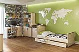 Полка навесная в гостиную из ДСП Палермо Дуб сонома Світ меблів, фото 2