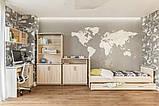 Полка навесная в гостиную из ДСП Палермо Дуб сонома Світ меблів, фото 3