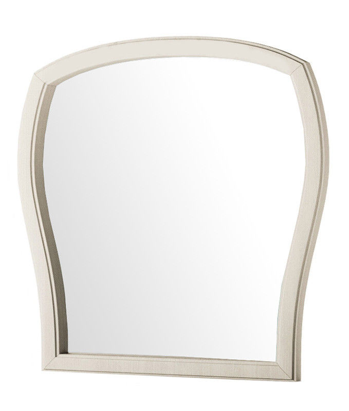 Зеркало в спальню из ДСП Тереза Ясень белый Світ меблів