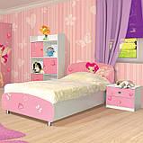 Тумба приліжкова в дитячу кімнату з ДСП Мульти Фея Світ меблів, фото 3