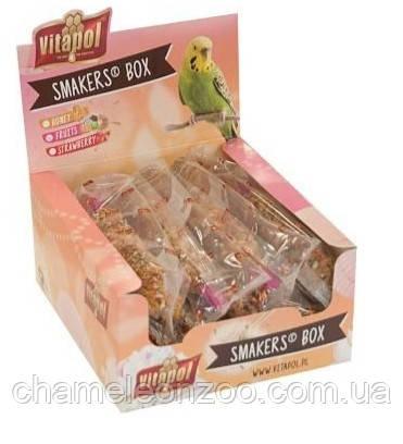Vitapol лакомства для попугаев Smakers Box медовый 1 шт