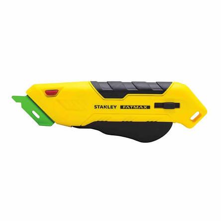 Нож безопасный FATMAX® Box Box с выдвижным трапецевидным лезвием STANLEY FMHT10363-0, фото 2