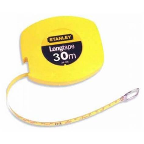 """Рулетка вимірювальна STANLEY """"Longtape"""", 30мх9,5мм, в пластмасовому корпусі., фото 2"""
