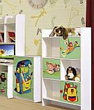 Книжный шкаф в детскую комнату из ДСП Мульти Алфавит Світ меблів, фото 2