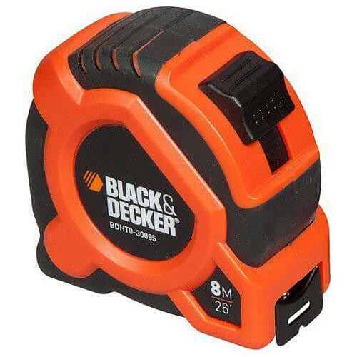 Рулетка измерительная 8 метров BLACK+DECKER BDHT0-30095