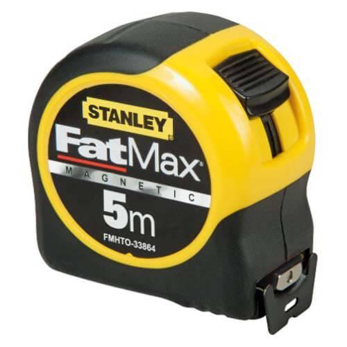 Рулетка измерительная FatMax Blade Armorдлиной 5 м, шириной 32 мм, магнитная STANLEY FMHT0-33864