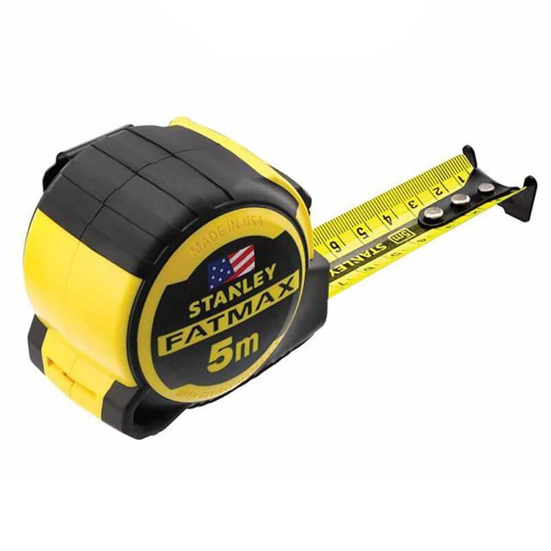 """Рулетка вимірювальна STANLEY """"Fat-Max Pro Next Gen"""", 5мх32мм, в обрезининном корпусі."""
