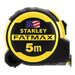 """Рулетка вимірювальна STANLEY """"Fat-Max Pro Next Gen"""", 5мх32мм, в обрезининном корпусі., фото 2"""