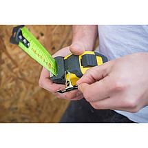 """Рулетка вимірювальна STANLEY """"FatMax® PRO II"""", 8мх32мм, прогумований литий корпус., фото 3"""