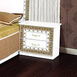 Тумба приліжкова в спальню з ДСП Софія Білий Світ меблів, фото 2