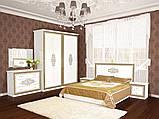 Тумба приліжкова в спальню з ДСП Софія Білий Світ меблів, фото 3