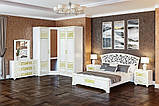 Тумба приліжкова в спальню з ДСП Поліна Нова Білий Світ меблів, фото 2