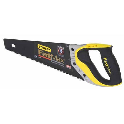"""Ножівка STANLEY """"FatMax® Jet-Cut"""", довжина 500мм, з покриттям""""Appliflon"""", поздовжній і поперечний рез."""