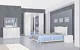 Тумба приліжкова в спальню з ДСП Феліція Нова Білий Світ меблів, фото 4