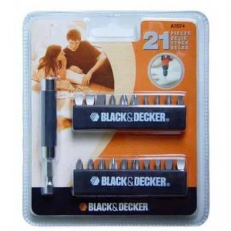 Набор бит BLACK+DECKER A7074, фото 2