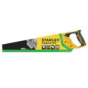 """Ножівка STANLEY """"Tradecut"""", універсальна, із загартованими зубцями, L=450мм, 7 tpi., фото 2"""