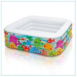 Надувной бассейн Intex (57471) 159x159x50 см