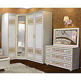 Дзеркало в спальню з ДСП Поліна Нова 1В Білий Світ меблів, фото 2