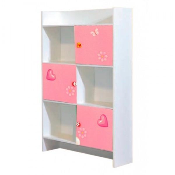 Книжкова шафа в дитячу кімнату з ДСП Мульти Фея Світ меблів