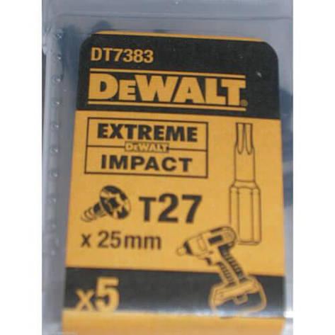 Набор бит DeWALT DT7383T, фото 2