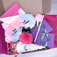 "Подарочный бокс для девочки Wow Boxes ""Cat Box #11"""