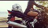 Багажная сетка для мотоцикла (Черная), фото 3