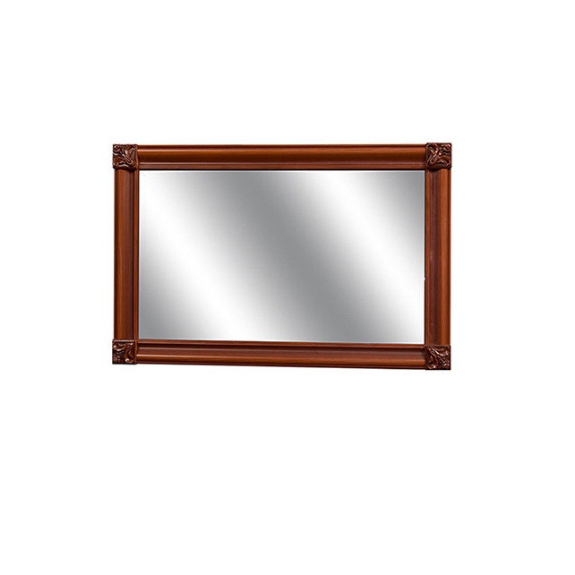 Зеркало в спальню из ДСП и МДФ Лацио 1.1 Прованс темный Світ меблів