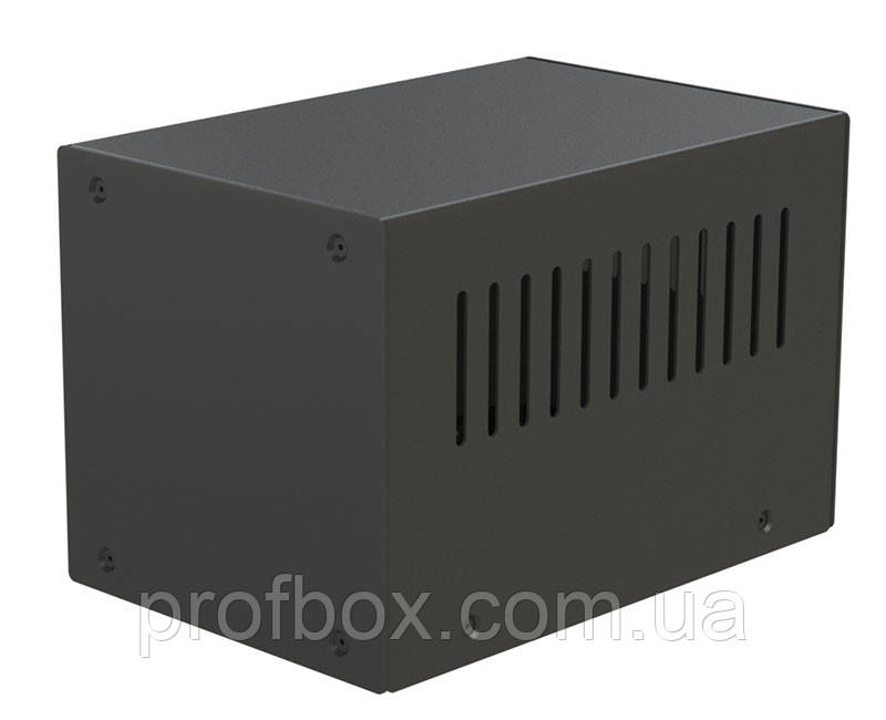 Корпус металевий MB-33 (Ш100 Г150 В100) чорний, RAL9005(Black textured)