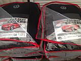 Авточехлы на Volkswagen Transporter 1+2 T5 2003-2014 van,Favorite на Фольксваген Т5, фото 8