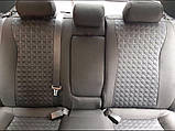 Авточехлы на Volkswagen Transporter 1+2 T5 2003-2014 van,Favorite на Фольксваген Т5, фото 4