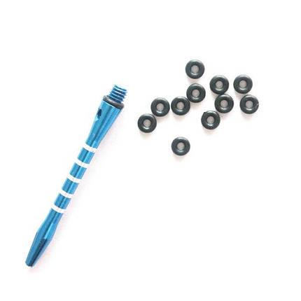 Набор колец на резьбу хвостовика для дротиков дартс, фото 2