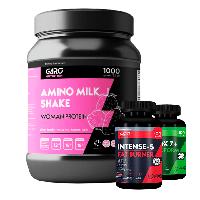 Мощный комплект для похудения (протеин, детокс, мощный жиросжигатель)