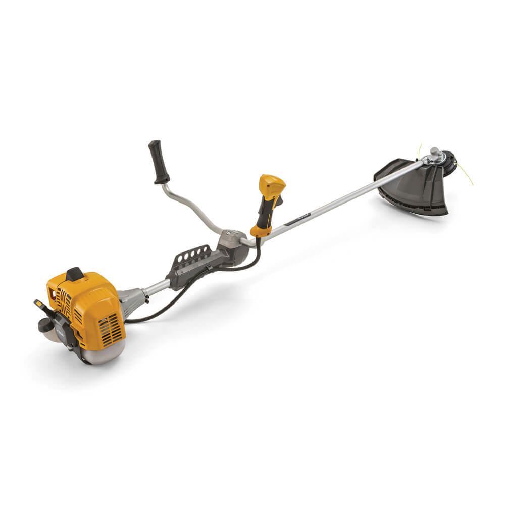 Коса бензинова STIGA, 0.9 кВт, ніж і волосінь, вага 7.82 кг