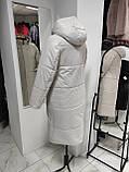 """Демісезонне пальто """"Медіна"""" зі зйомним капюшоном, фото 8"""