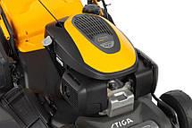 Газонокосарка бензин самохід STIGA,Honda GCV145, 2.75 кВт, шир кош 46 см, вис кош 22-80мм, трав 60 л, фото 2