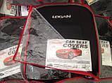 Авточохли на Renault Logan 2004-2012 sedan, Favorite Рено Логан, фото 4