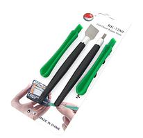 Набір інструментів BAKU BK-7280-D (скальпель, шпателек, дві лопатки для розбирання корпусів)