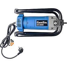 Вібратор глибинний Enersol, 2.0 кВт, частота вібрації 17000 віб/хв, частота струму 50 Гц, вага 6.2 кг