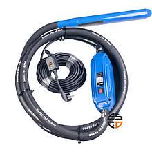 Вібратор глибинний високочастотний Enersol, 1.5 кВт, част вібрації 12000 віб/хв, центр сила 5 кН