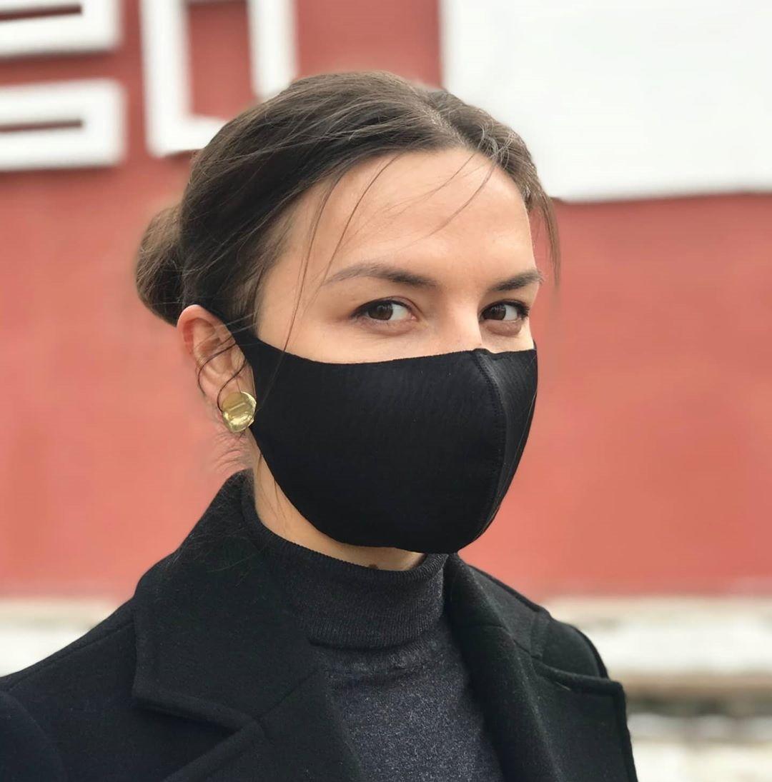 ✨ Захисна маска Багаторазова Пітта комплект 3шт. чорна (PITTA+3) без клапана, використовується у всьому світі ✨