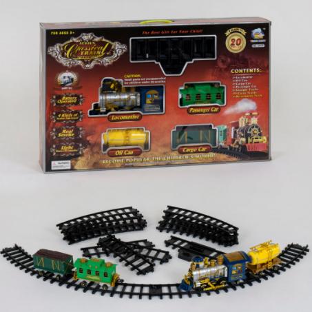 Железная дорога 2417 (8) световые и звуковые эффекты
